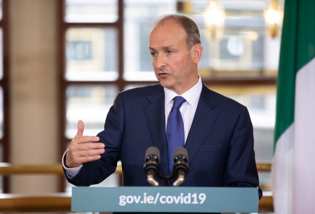 An Taoiseach Micheal Martin December 2020