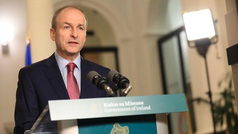 An Taoiseach Micheal Martin November 2020