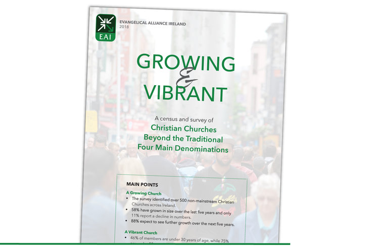 GROWING & VIBRANT A census and survey of Christian Churches Beyond the Traditional Four Main Denominations